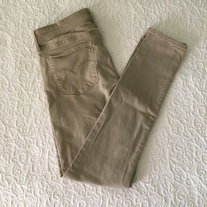 RARE Levi's 711 Skinny Khakis, Excellent Condition